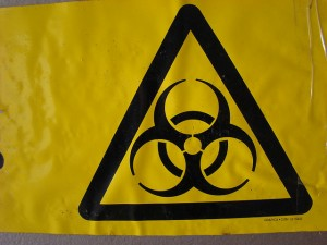 Biohazard warning