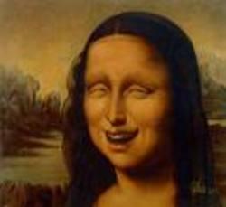Mona Lisa Laughing
