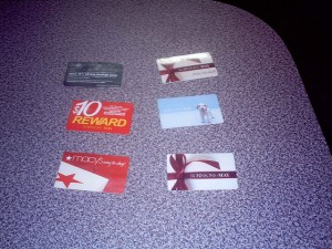 Store Gift Cards