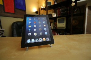 ipad 2 screen with many apps