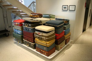Lots of suitcases