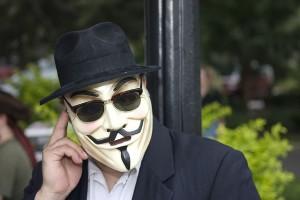 Guy in mask