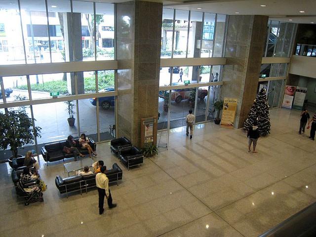 Raffles Hospital Lobby