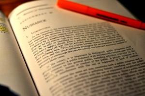 Law casebook
