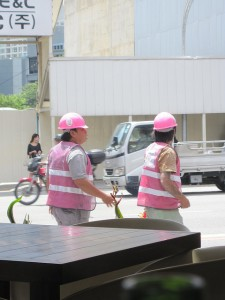Singapore's lady construction workers