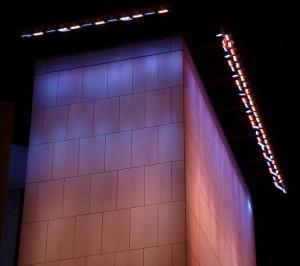Wall wash neon lights