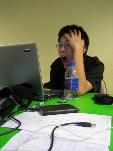 Yawning tutor