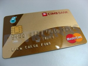 CIMB bank master card