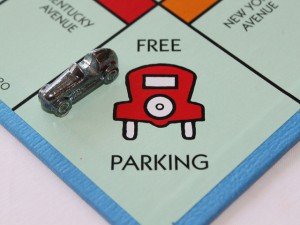 Free parking on monopoly