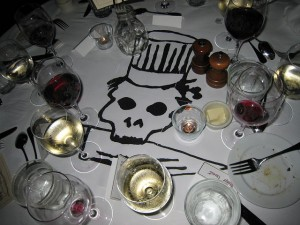 Chef's Hat on a Skull