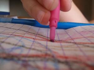 Crayon scribbles