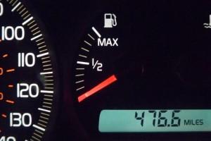 Petrol gauge
