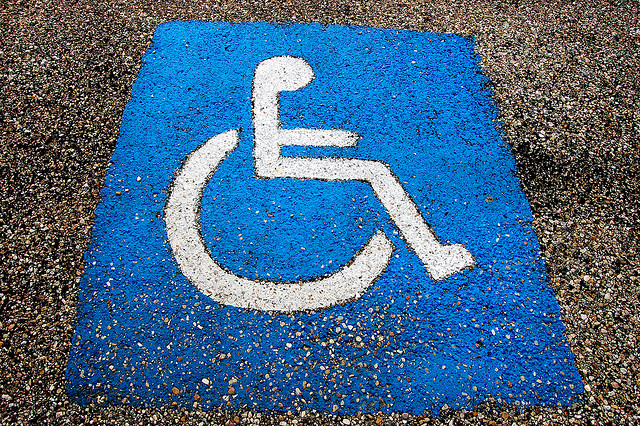 Disabled spot