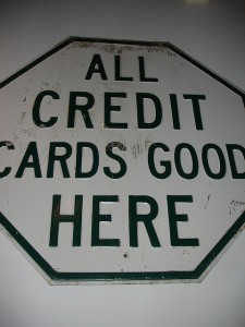 All credit cards good here