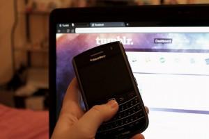 Handphone and PC