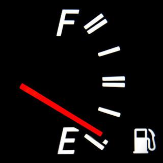 fuel nearly empty
