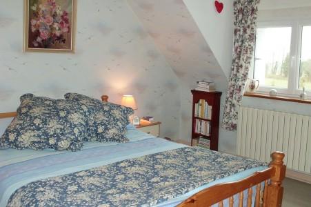 Flowery bedroom