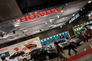 Honda at car show
