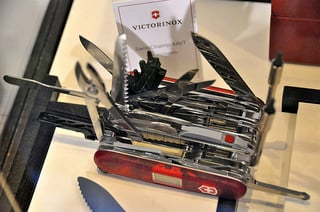 Swiss army knife, giant one