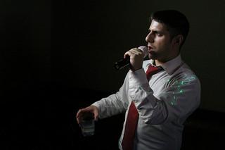 Drunk singing guy