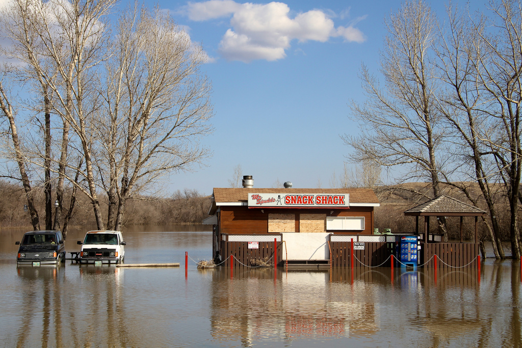 Insurance in the event of a flooding