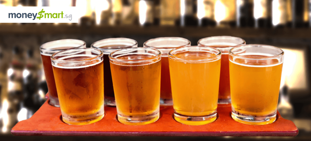 craft beer places in singapore