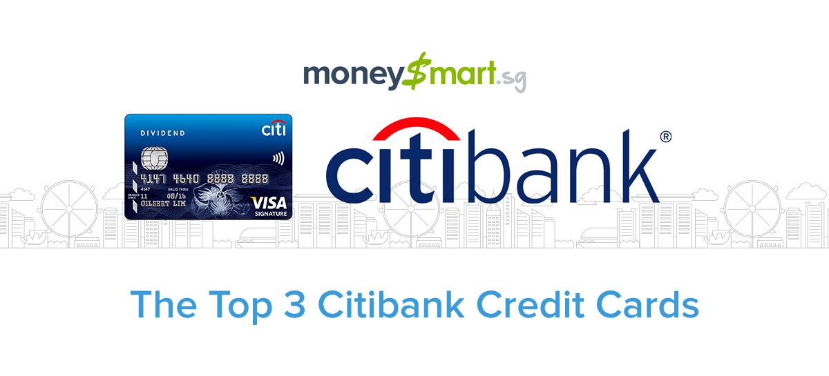citibank credit cards in singapore  moneysmart's