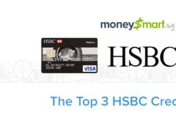 Top 3 HSBC Credit Cards Singapore