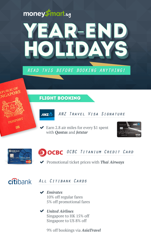 holiday flight booking credit card