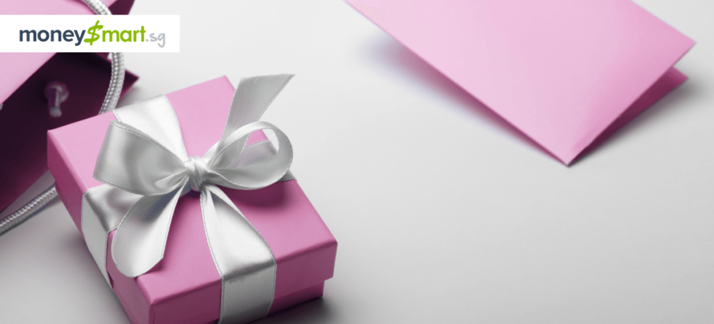 buying expensive gift