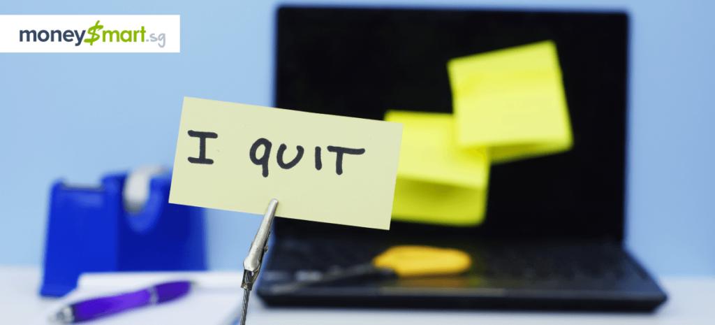 quit job singapore