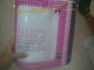 Daiso kitchen paper