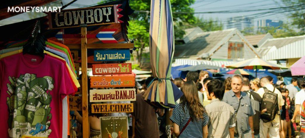 bangkok budget itinerary chatuchak market