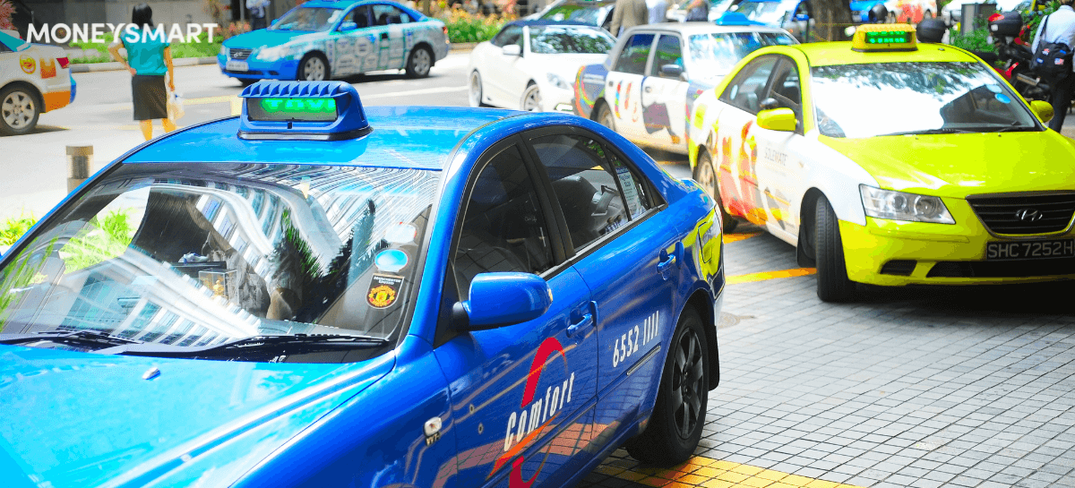 dynamic pricing taxi companies singapore comfortdelgro