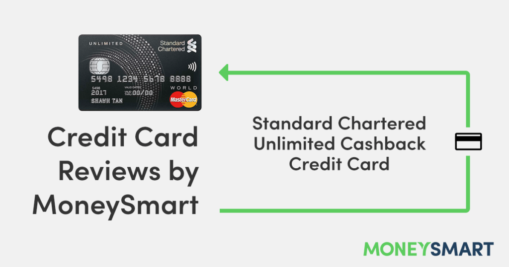 SCB Unlimited Cashback Credit Card