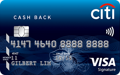 citi cash back card weekend dining