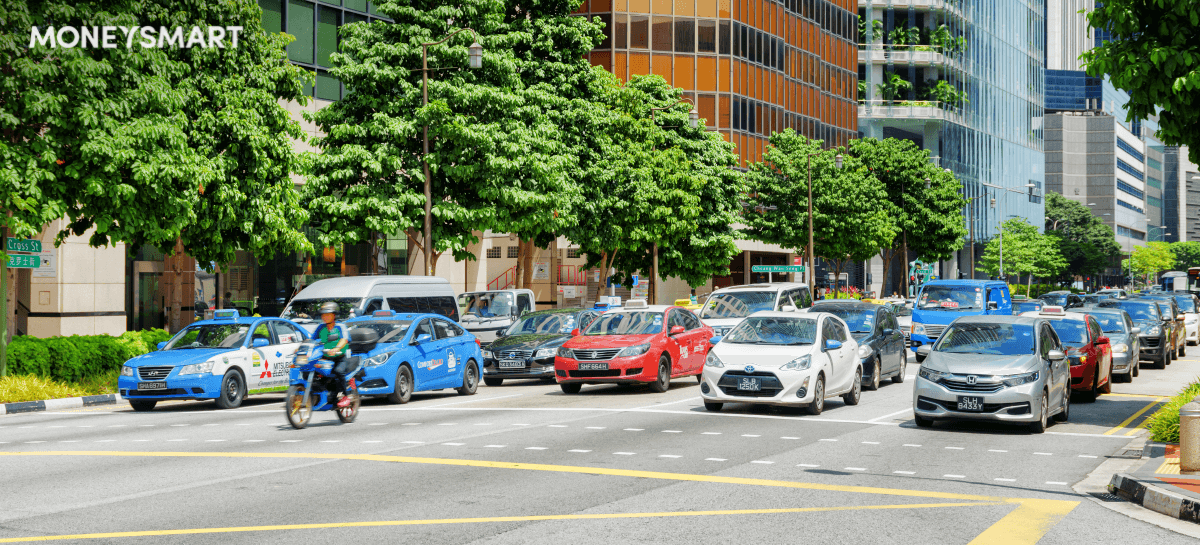 singapore vehicle growth rate