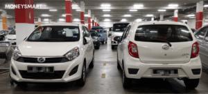cheapest cars singapore perodua bezza mitsubishi attrage hyundai accent 4d