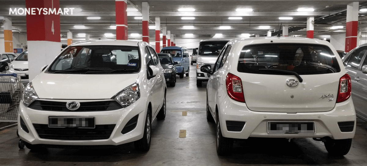 cheapest cars singapore perodua bezza mitsubishi attrage hyundai accent 4d