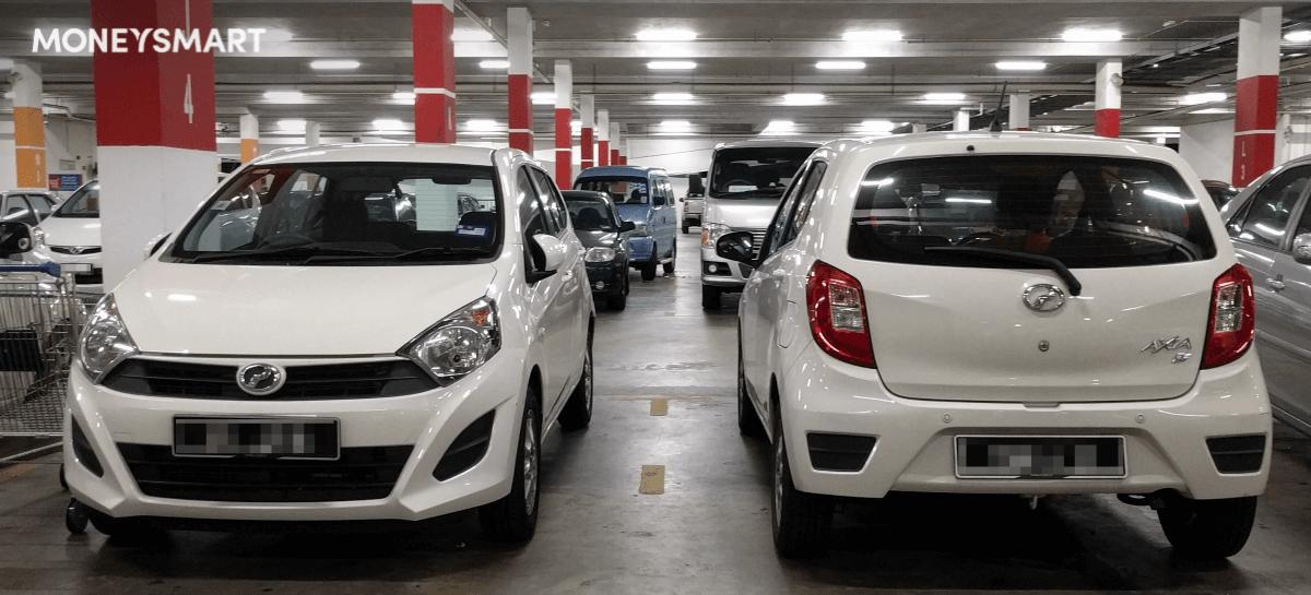 perodua axia most affordable car