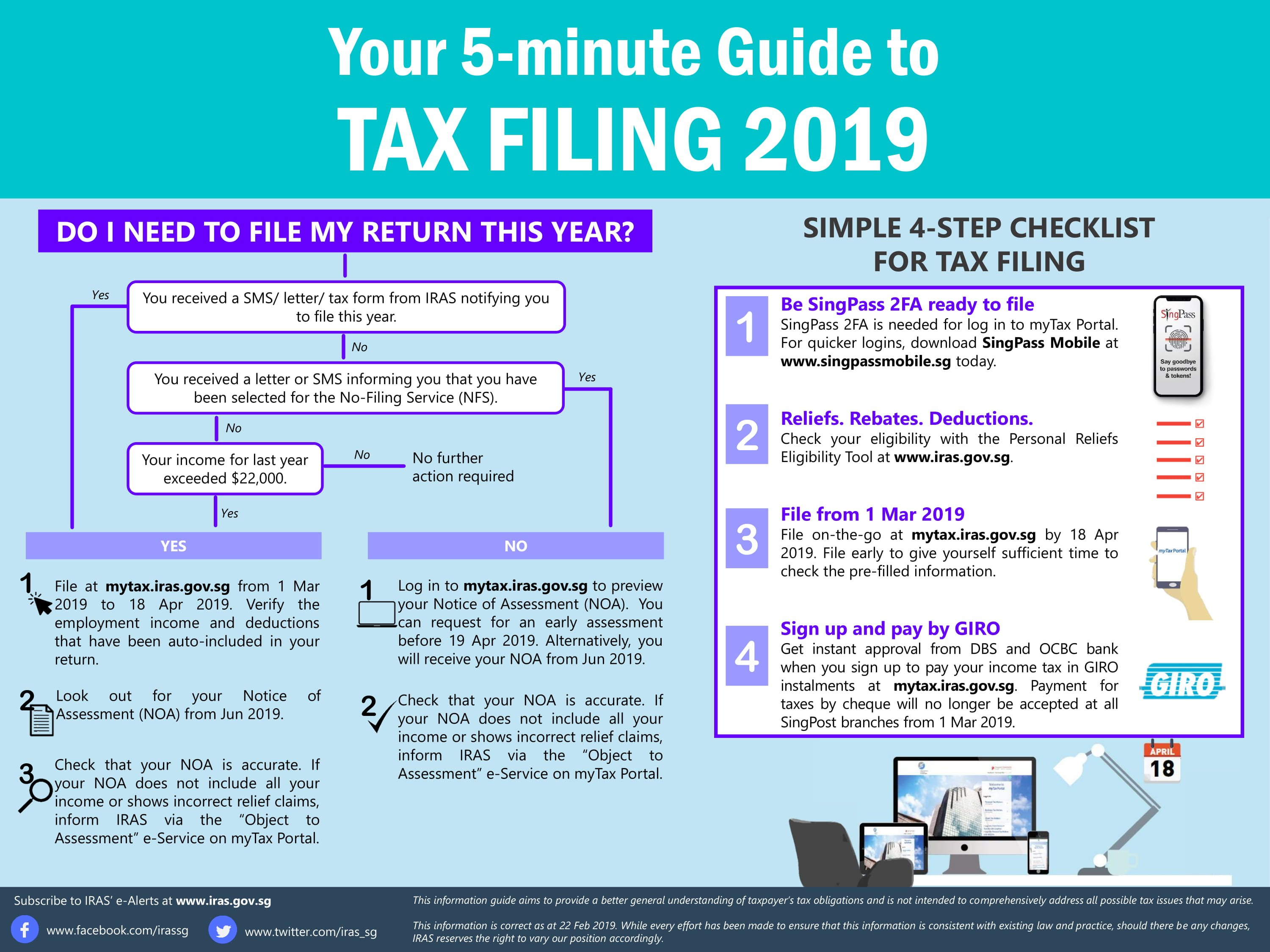 income tax filing guide