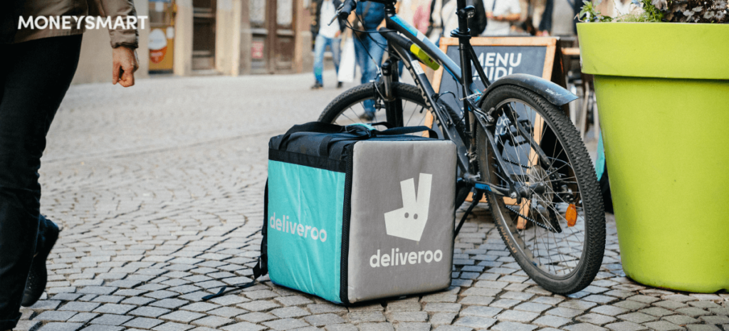 Food Delivery deliveroo ubereats foodpanda