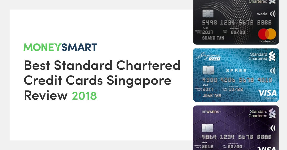 standard chartered credit card review