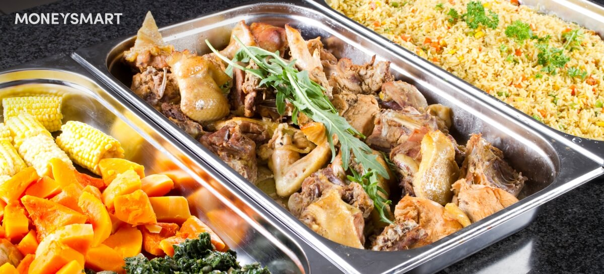 halal catering buffet