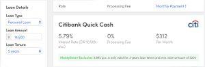 moneysmart personal loan