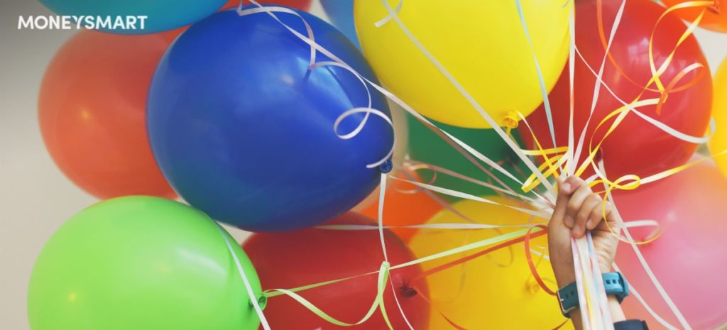 best party shops in Singapore for helium balloons and helium balloon delivery