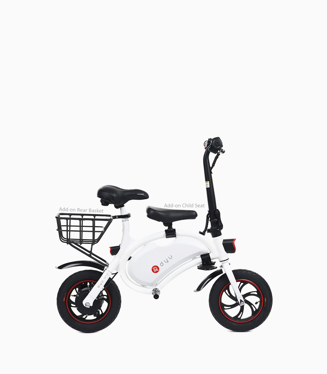 dyu seated scooter