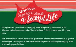 donating sport shoes active sg sport singapore jogging lanes