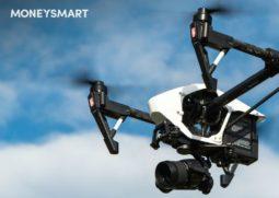 drone cameras dji parrot singapore