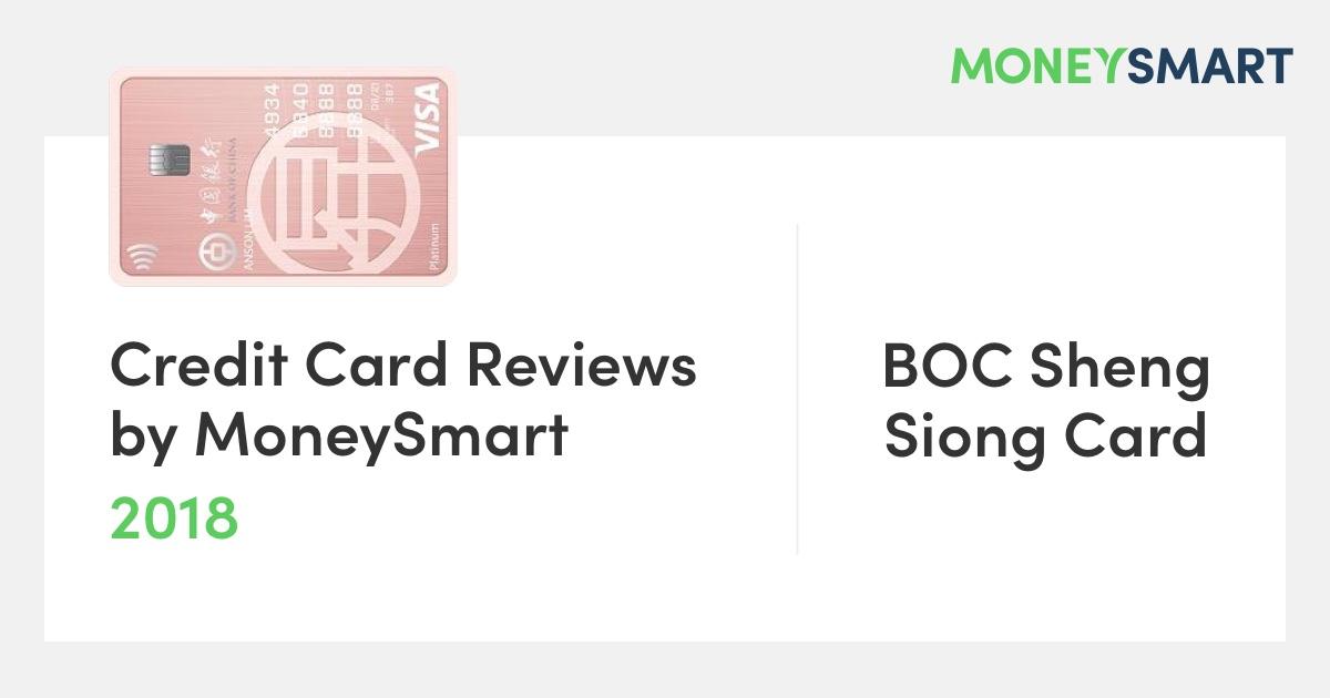 BOC sheng shiong card